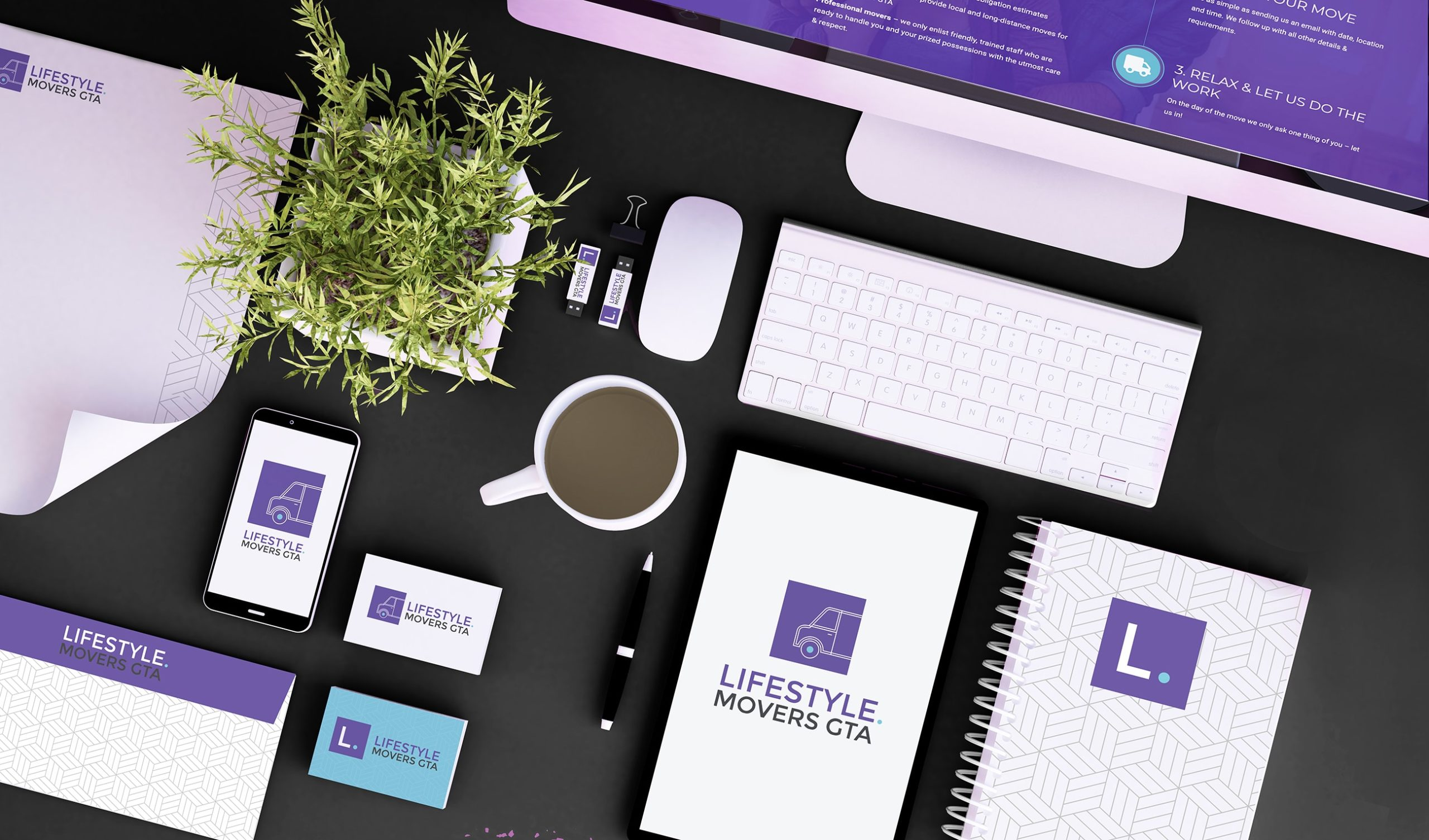 Brand Identity Design for Lifestyle Movers GTA